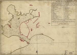 1790 map of Cuba, Havana Bay, Plano del puerto de la Havana, situado en la parte