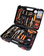 Batería de litio kit de herramientas de perforación,perfecto para tareas dentro y alrededor de la casa garaje taller de jardín