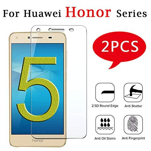 wojiaxiaopu [3 stück]für Huawei Honor 4c gehärtetes Glas 5a a c x Bildschirmschutzfolie homor verre x4 a5 schutzfolie honer Honor 4 x a4 Glas@Für Ehre 3c