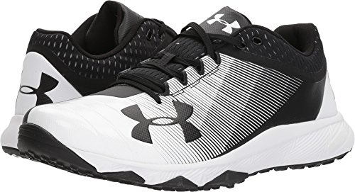 Under Armour New Mens UA Yard Low Trainer Size 11 Black/White