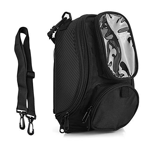 Motorrad-Tankrucksack, Motorradtasche, Magnetischer Motorrad-Tankrucksack mit Mehreren Taschen, wasserdichte Motorrad-Gepäcktaschen