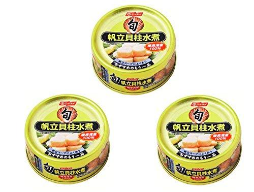 ニッスイ 旬 帆立貝柱水煮 120g 缶詰 イージーオープン?3缶セット おかず おつまみ 惣菜 缶詰 時短料理 海産物