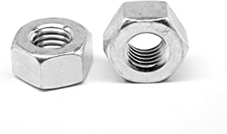 2-4 1//2 Slotted Finished Hex Nut Low Carbon Steel Zinc Plated Pk 10