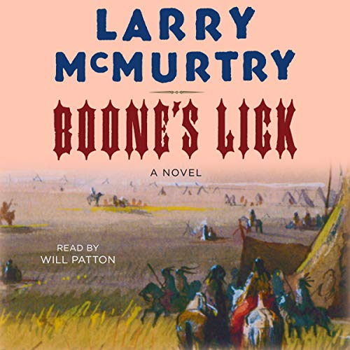 Boone's Lick audiobook cover art