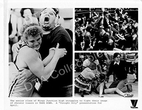 """MOVIE PHOTO: TAKE DOWN-1979-MAX PAYNE-BLACK&WHITE-8""""x10"""" MOVIE STILL FN"""