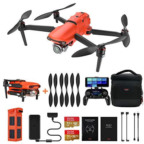 Autel Robotics EVO 2 Pro Drone Quadcopter Plegable con Apertura Ajustable de Video HDR 6K para Resultados Profesionales