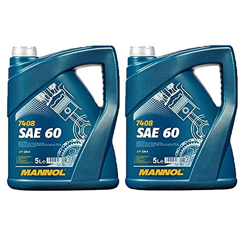 MANNOL 2 x 5 Liter, SAE 60 Motorenöl