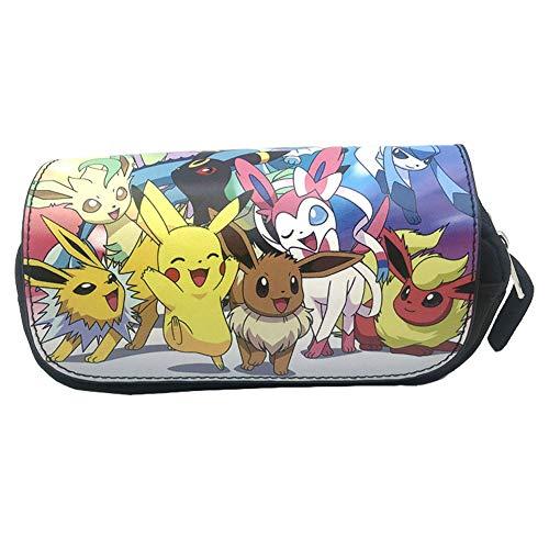 Estuche de lápices Pokemon, NALCY Pikachu Estuches Escolares, Estuche de