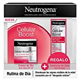 Neutrogena Cellular Boost Pack Antiedad, Crema Hidratante Facial y Contorno de Ojos