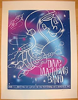 dave matthews band mansfield poster