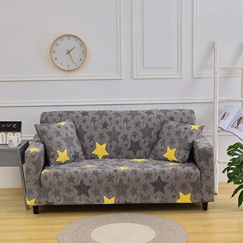 MKQB Funda de sofá de Moda y Simple, Funda de sofá Antideslizante retráctil elástica, Funda de sofá de Esquina en Forma de L para Sala de Estar NO.9 M (145-185cm