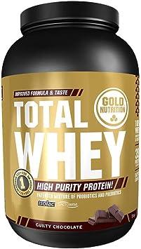 Goldnutrition Total Whey Proteina 1kg, Chocolate, Aumenta y ...