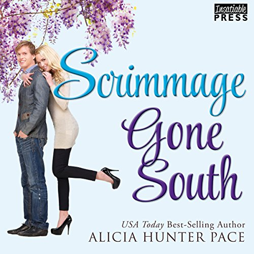 Scrimmage Gone South audiobook cover art