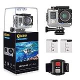 EECOO Action Cam 4K WiFi Kamera Unterwasser Kamera Ultra HD 16MP Sport Kamera 30M Wasserdicht...