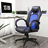 Songmics Racing Stuhl Bürostuhl Chefsessel OBG56B