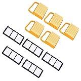 FOLOSAFENAR Material de Silicona Elemento de Filtro de Aire Instalación Simple Accesorios de jardín Filtro de Aire Algodón, para Stihl TS410 TS420