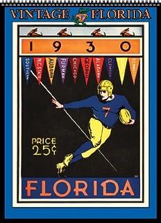 Florida Gators 2014 Vintage Football Calendar by Asgard Press (2013-08-01)