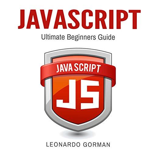 Javascript: Ultimate Beginners Guide audiobook cover art