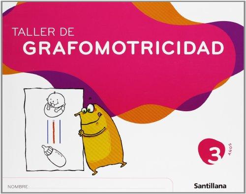 Taller de Grafomotricidad 3 Años Santillana - 9788429449129