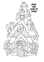 Cartoon Transparent Clear Stamps for DIY Scrapbooking/Card Making/Kids Christmas Fun Decoration Supplies ST0455