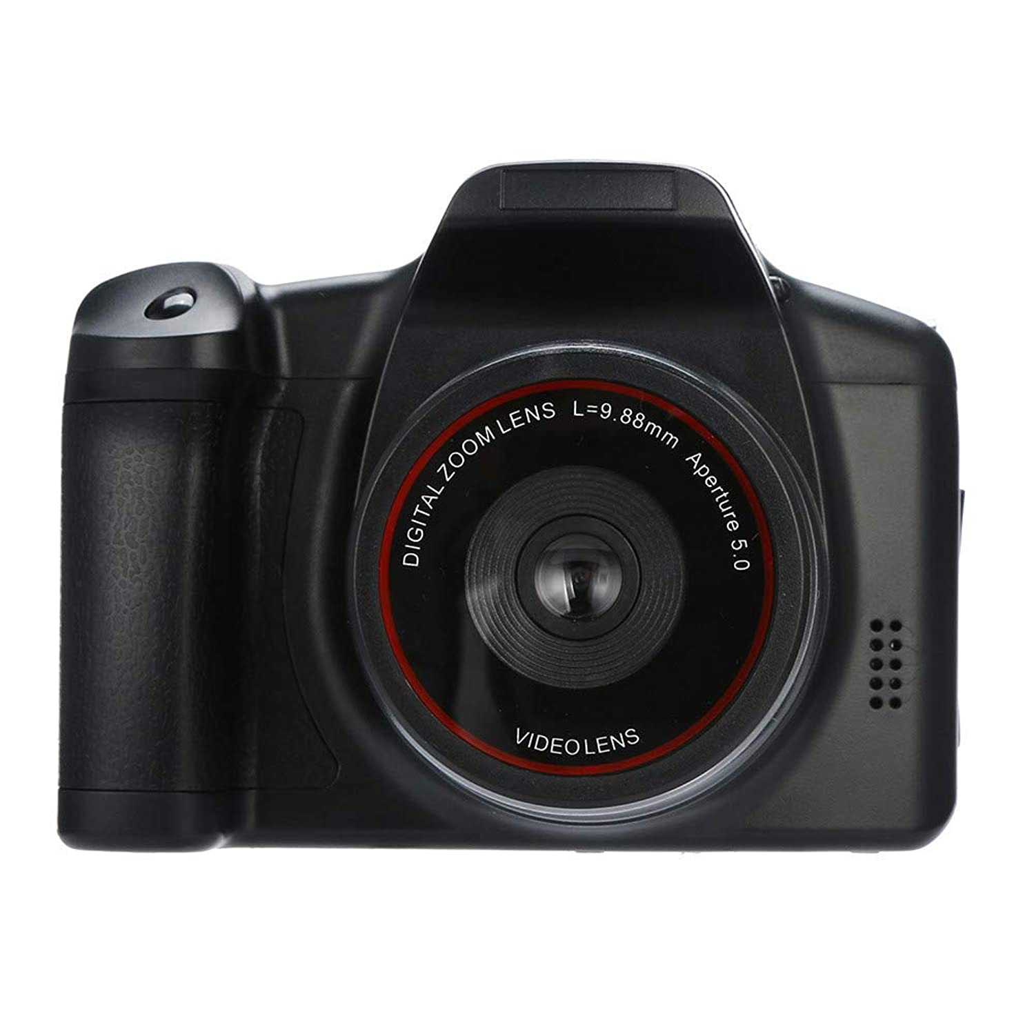 Knightly Video Camcorder HD 1080P Handheld Digital Camera 16X Digital Zoom Waterproof Dual Screen WiFi HD 1080P Sports Action Camera DVR Cam Camcorder Super Lightweight Small in Size (Black)