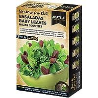 Batlle Huerto Urbano - Ensaladas Baby leaves Hojas Gourmet