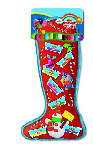 Didò- Pasta da Modellare Calza Befana, Colori Assortiti, 344400