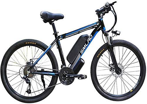 Fangfang Bicicletas Eléctricas, 26 Pulgadas Electric Mountain Bicicletas, 13A / 1000W batería de 48V de Iones de Litio Boost de Bicicletas de montaña Doble del Freno de Disco de Bicicletas,Bicicleta