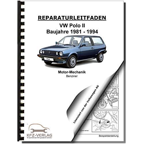 VW Polo 2 86C (81-94) 1,0/1,3l Benzinmotor 45-115 PS Mechanik Reparaturanleitung