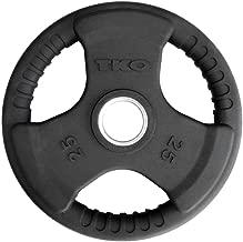 TKO Olympic Urethane Tri-Grip Plate