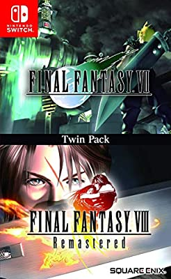 Final Fantasy VII & VIII Remastered Twin Pack - Nintendo Switch