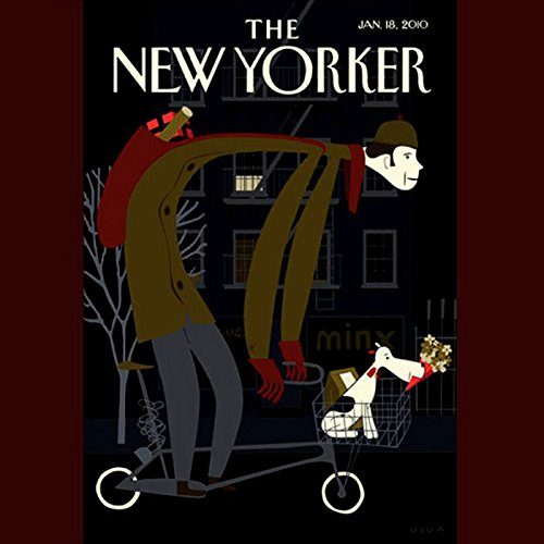 The New Yorker, January 18, 2010 (Malcolm Gladwell, Amanda Fortini, Nancy Franklin) audiobook cover art