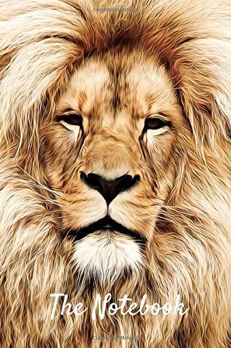 """The Notebook: Beautiful Lion Notebook/Journal (6"""" X 9"""")"""