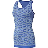 adidas Ultra PY Tank W Camiseta, Mujer, Azul (azalre/gricen), S