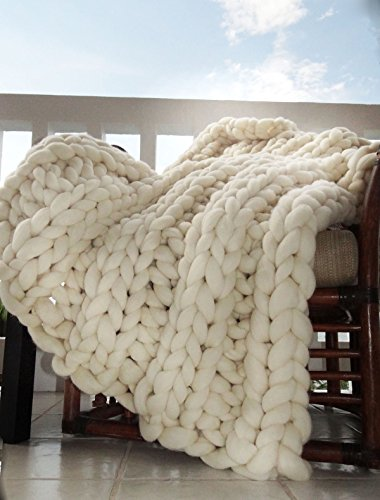 All things smoosh Chunky Throw Blanket
