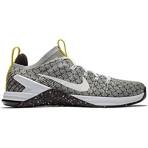 Nike Men's Metcon DSX Flyknit 2 X Black/White-Dynamic Yellow 10.0