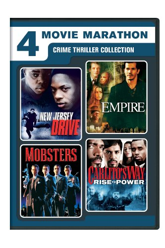 4-Movie Marathon: Crime Thriller Collection (New Jersey Drive / Empire / Mobsters / Carlito's Way: Rise to Power)