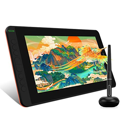 cheap screen tablets 2021 HUION KAMVAS 12 Full Laminated Graphics Drawing Tablet with Screen Android Support Battery-Free Stylus Tilt 8 Press Keys