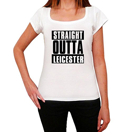 One in the City Straight Outta Leicester, Camiseta para Mujer, Straight Outta Camiseta, Camiseta Regalo