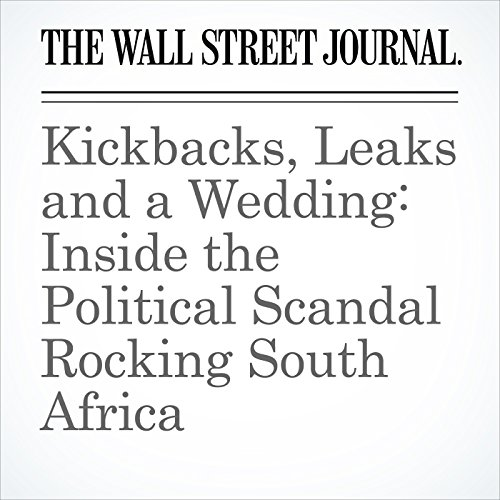 Kickbacks, Leaks and a Wedding: Inside the Political Scandal Rocking South Africa copertina