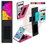 Hülle für Sharp Aquos D10 Tasche Cover Case Bumper | Pink
