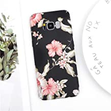 Maxlight Fashion Vintage Flower Cases for Samsung Galaxy S8 S9 Plus Note 8 Note 9 Floral PC Hard Protective Phone Back Cover Coque Gift (Style 2, for Galaxy S8)