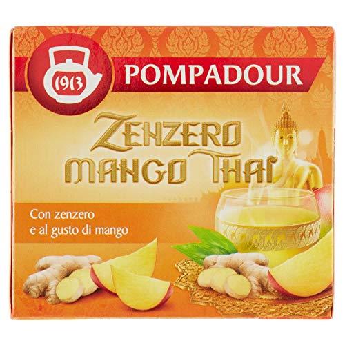 Sir Winston Tea Infuso Zenzero & Mango Thai, 22g