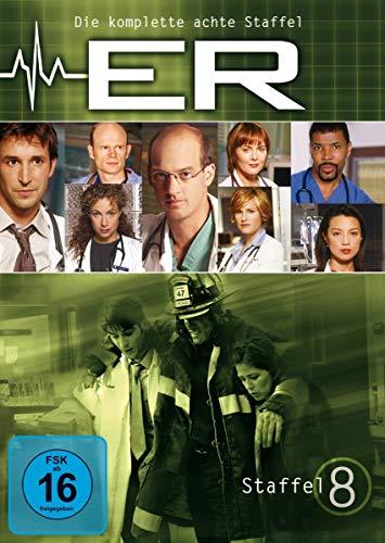 ER - Emergency Room, Staffel 08 [Alemania] [DVD]