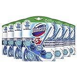 Domestos Power 5+ WC-Stein (für ein sauberes Bad Ocean mit Anti-Kalk-Schutz) 7er Pack (7 x 55 g)