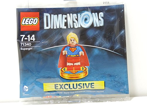Lego Dimensions Exclusive SuperGirl Limited Edition Rare Super Girl 71340