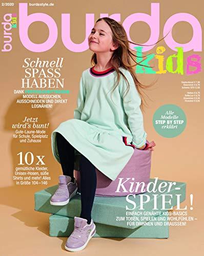 burda kids Nähmagazin: Schnittmuster für Kinder, 02 / 2020, ideal geeignet für Anfänger und Näherfahrene