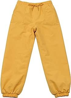 JAN & JUL Kids Water-Proof Soil-Repellent Puddle-Dry Rain Pants for Girls Boys