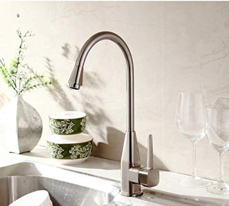 360 ° drehbarer Wasserhahn Retro Wasserhahnküchen-Badezimmer-Hahn-Teller-Becken heier und kalter drehender Wasserhahn