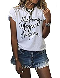 Cool gifts for writers like Making Magic Happy T-shirt